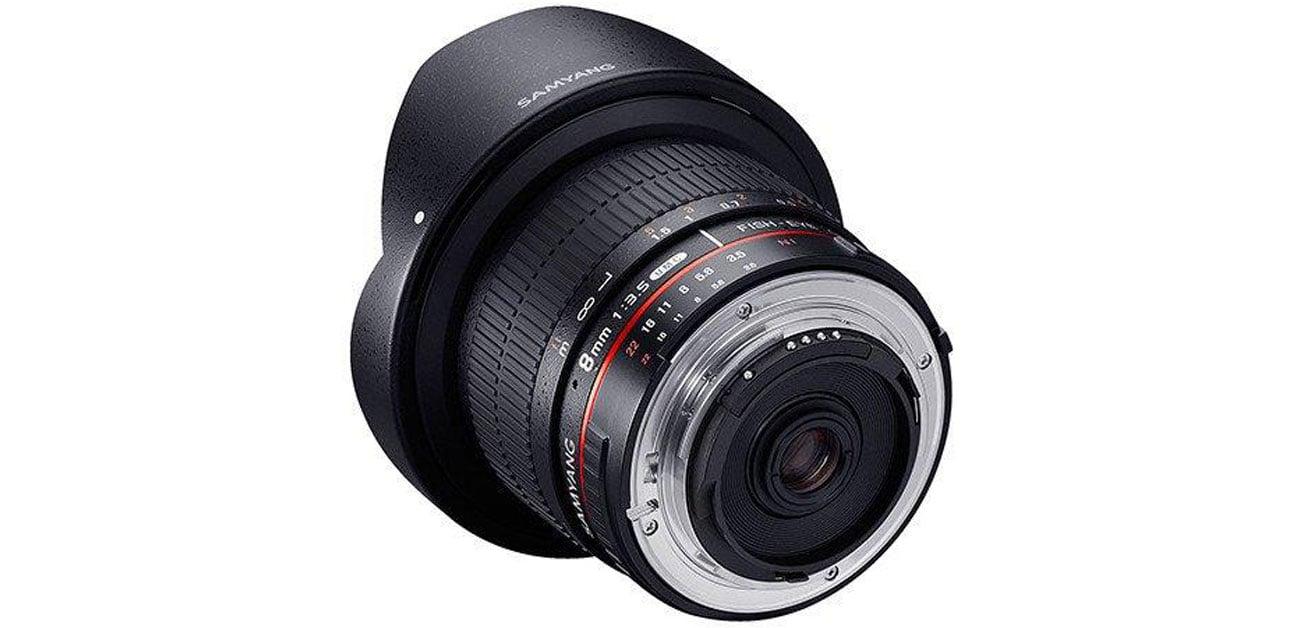 Samyang 8mm F3.5 H.D Canon