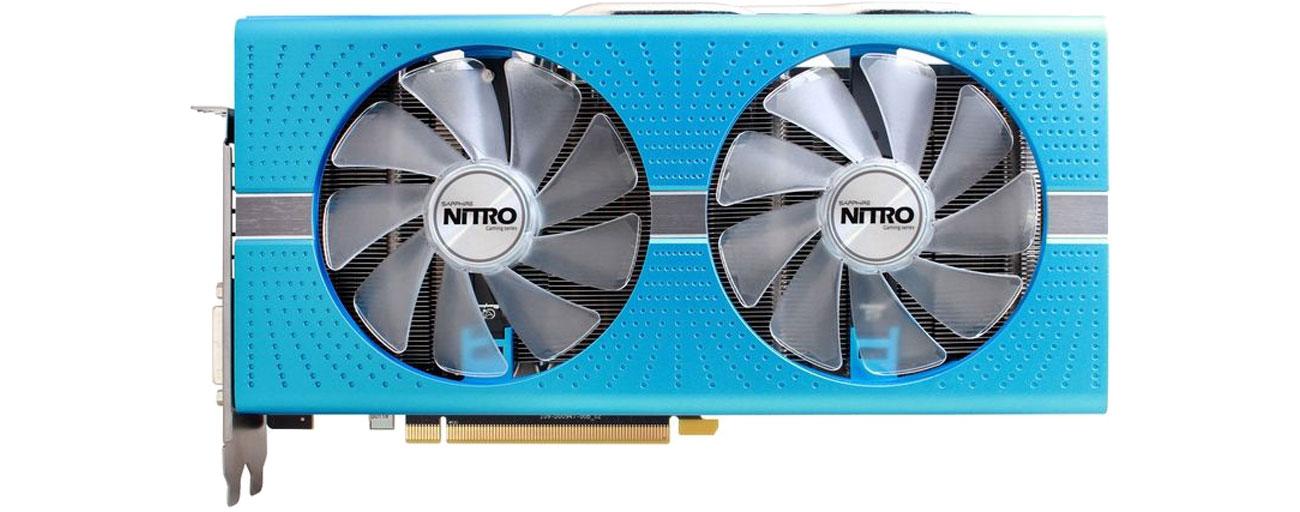 Sapphire Radeon RX 580 NITRO+  Chłodzenie Dual-X