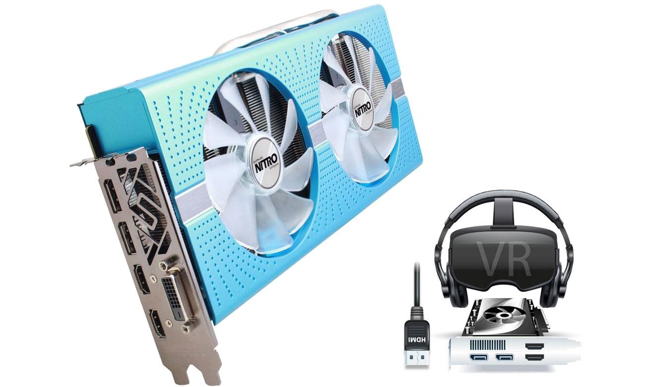 Sapphire Radeon RX 580 NITRO+  Przygotuj się na rzeczywistość wirtualną