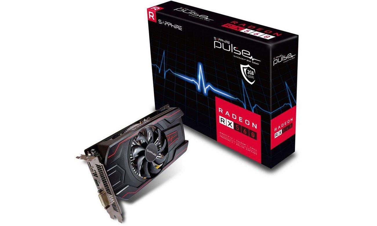 Sapphire Radeon RX 560 Pulse OC