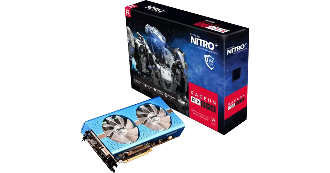 Karta graficzna Sapphire Radeon RX 590 NITRO+ Special Edition 8GB GDDR5 11289-01-20G