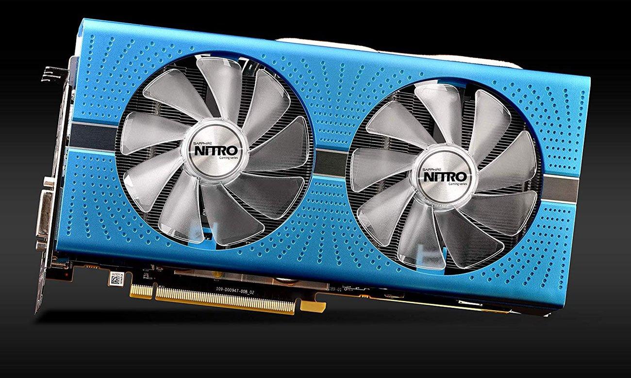 Sapphire Radeon RX 590 NITRO+ Special Edition Chłodzenie Dual-X