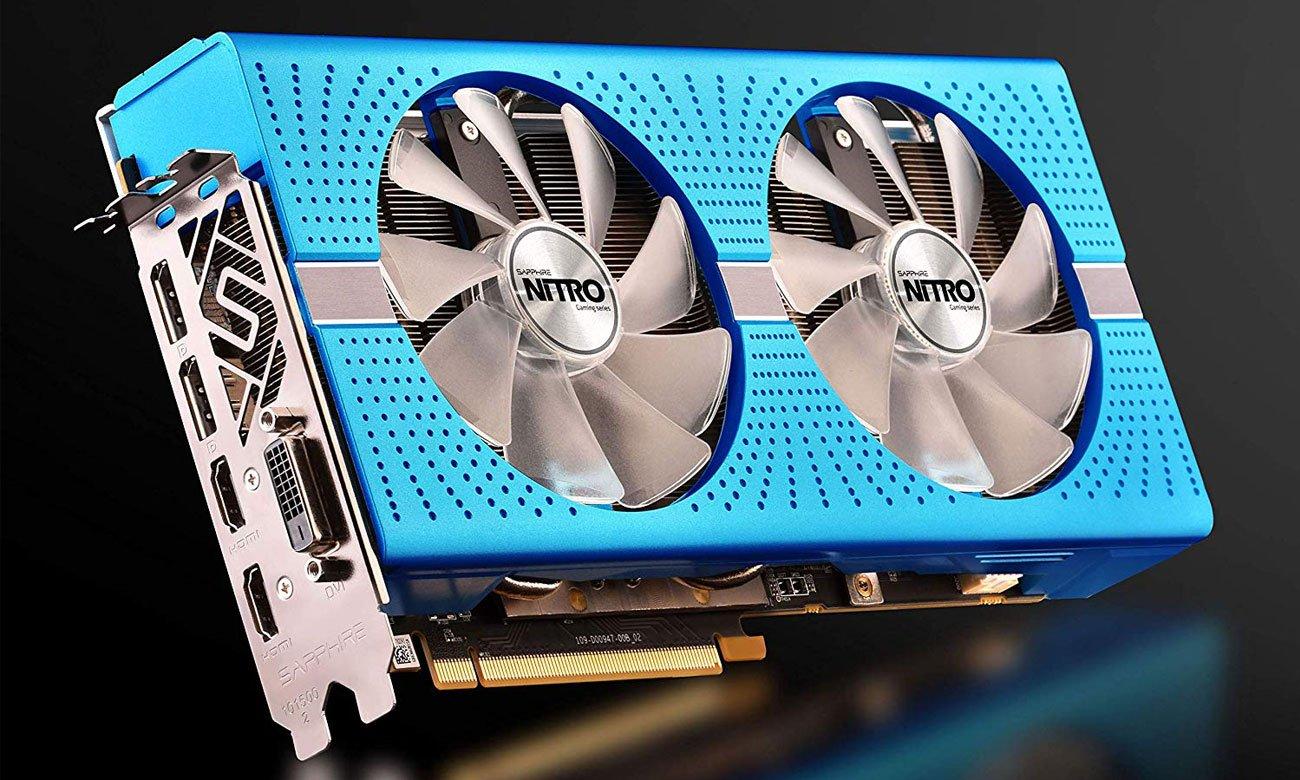 Sapphire Radeon RX 590 NITRO+ Special Edition Złącza HDMI, DisplayPort