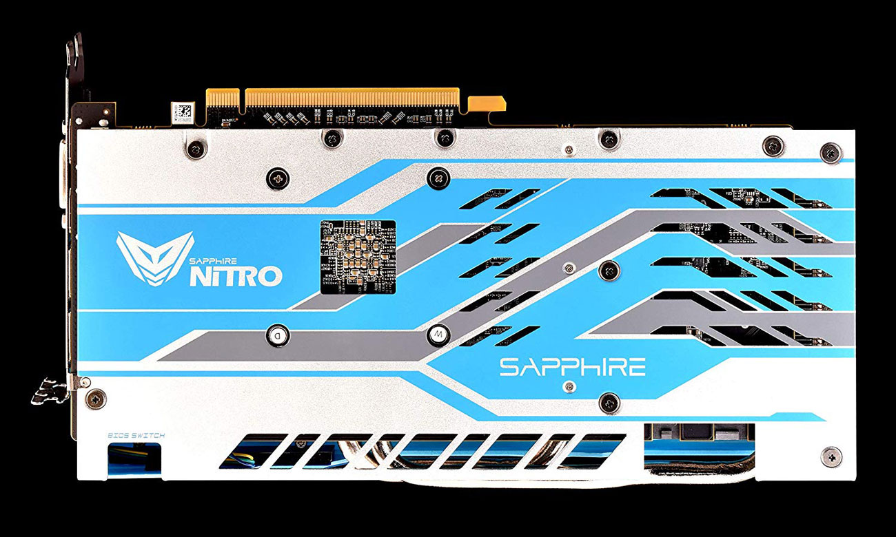 Sapphire Radeon RX 590 NITRO+ Special Edition Backplate