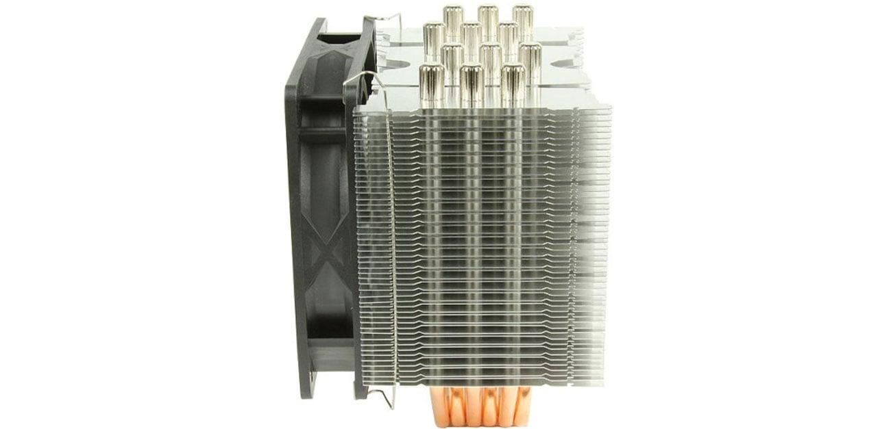 Chłodzenie do procesora Scythe Mugen 4 SCMG-4000 konfiguracja położenia wentylatora