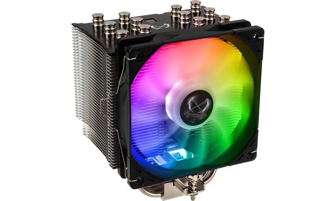 Scythe Mugen 5 Black RGB - Podświetlenie
