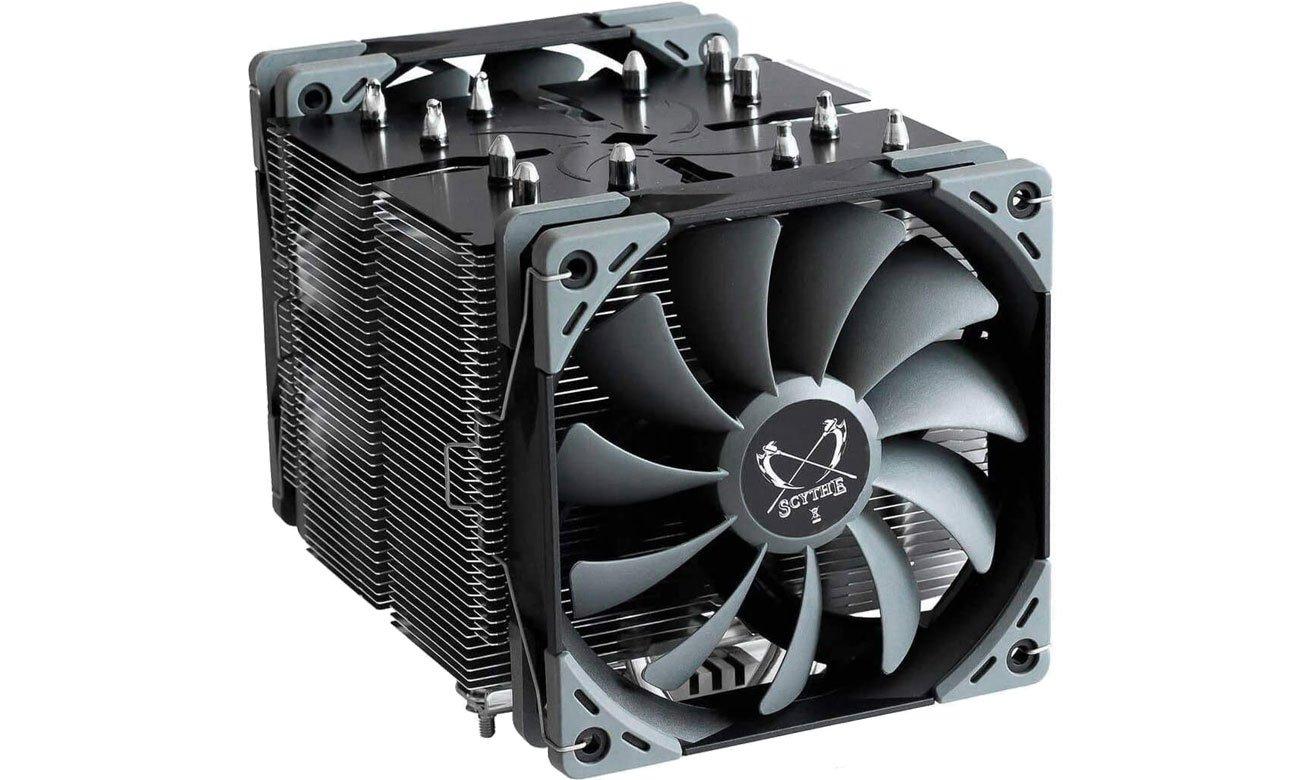 Chłodzenie procesora Scythe Ninja 5 2x120mm SCNJ-5000