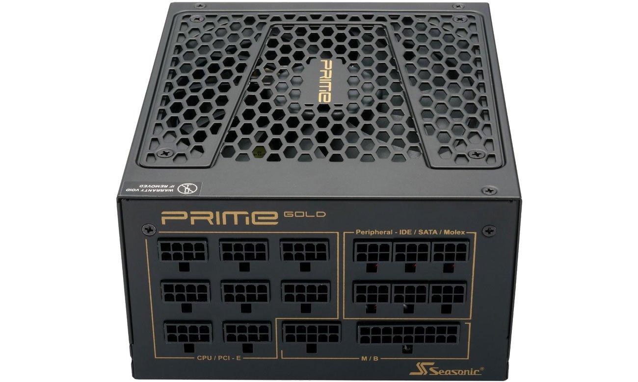 Seasonic Prime 1300W Gold - Modularne okablowanie