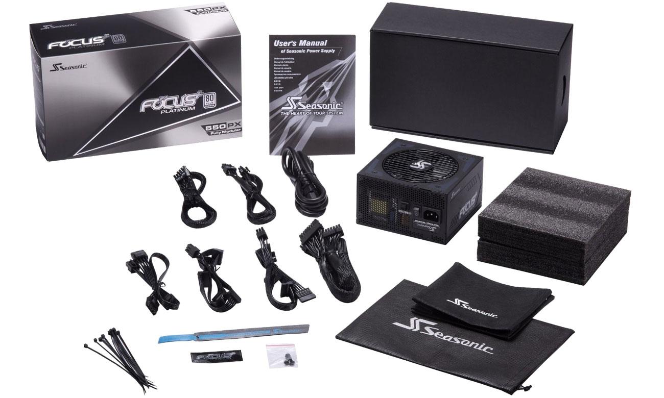 Seasonic FOCUS Plus 550W Focus+ 80 Plus Platinum BOX