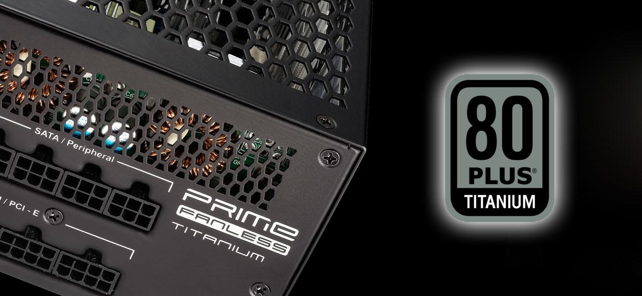 Seasonic 600W Prime Fanless 80 Plus Titanium
