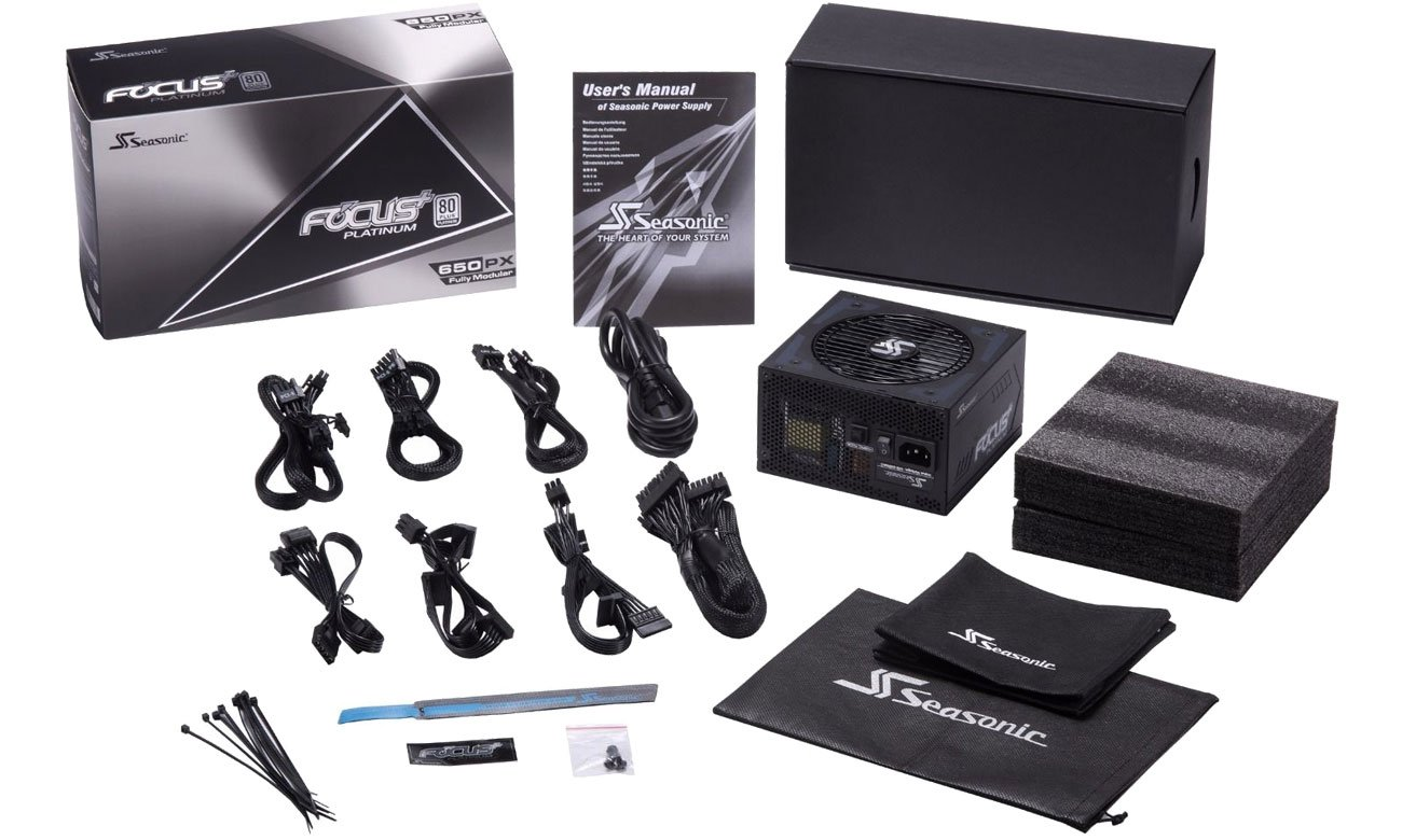 Seasonic FOCUS Plus 650W Focus+ 80 Plus Platinum BOX