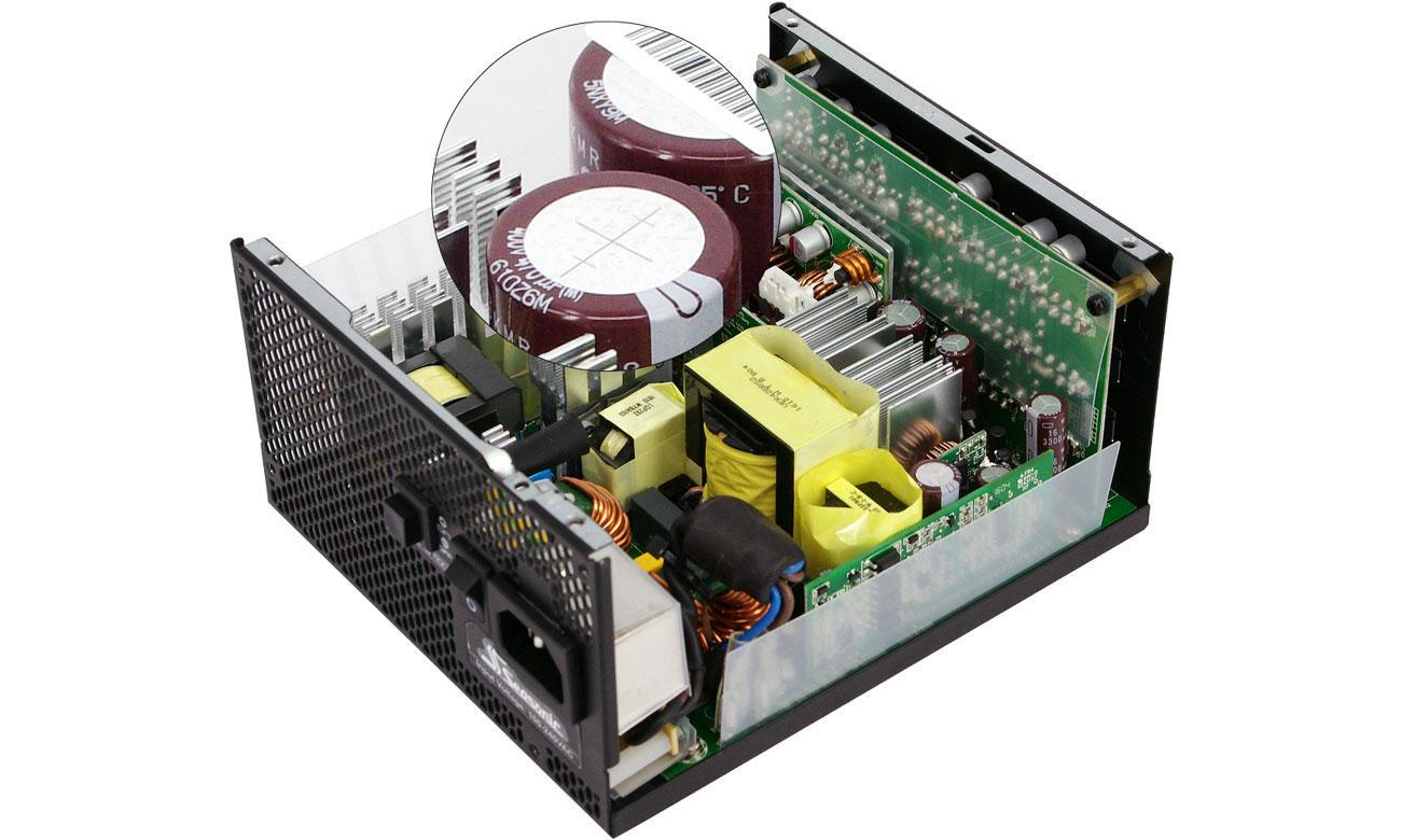 Seasonic 650W Prime 80 Plus Titanium Technologia
