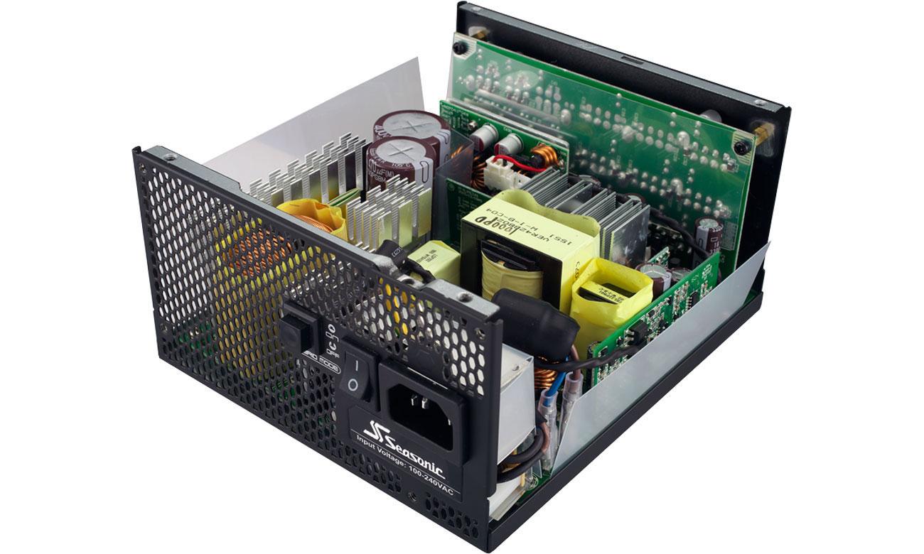 Zasilacz Seasonic 750W Prime 80 Plus Platinum Technologie