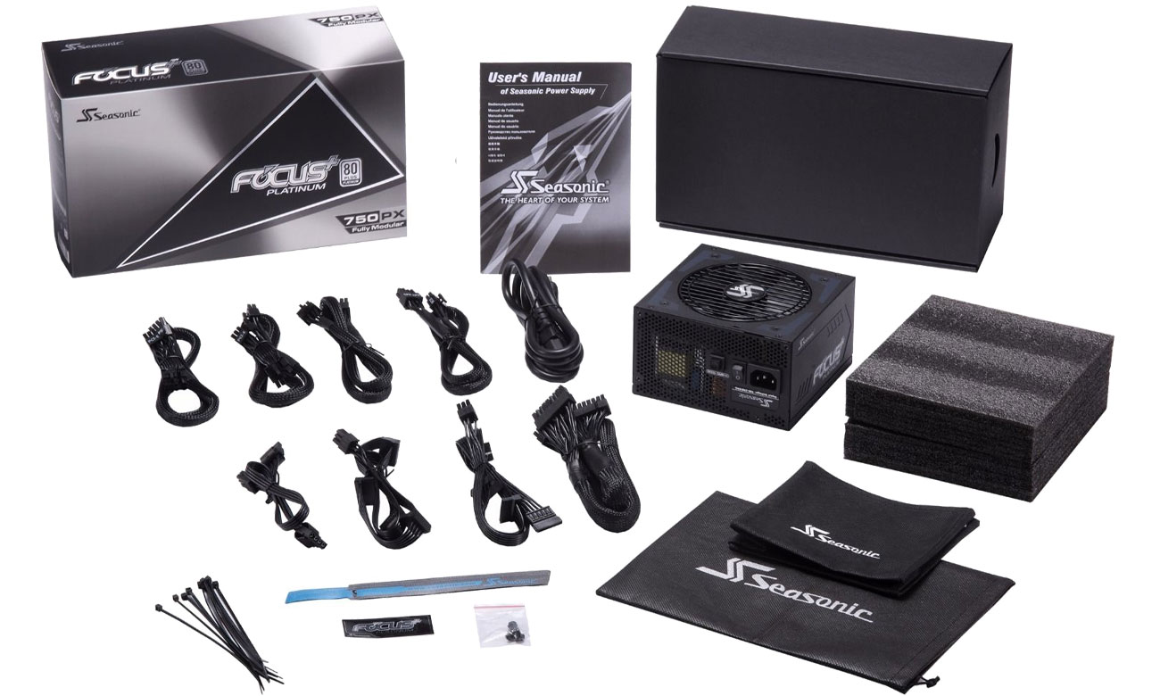 Seasonic FOCUS Plus 750W Focus+ 80 Plus Platinum BOX