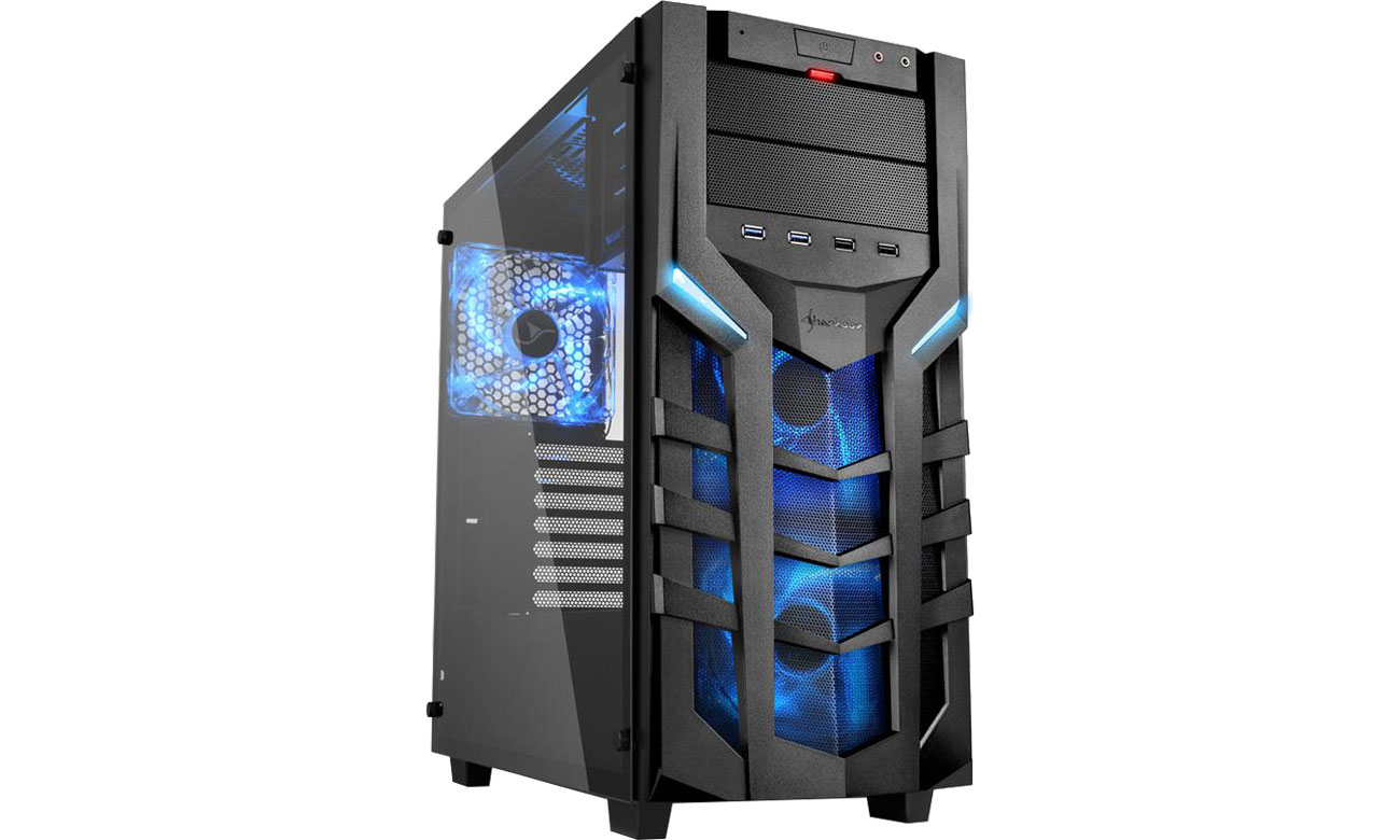 Obudowa do komputera Sharkoon DG7000-G Blue 4044951019366