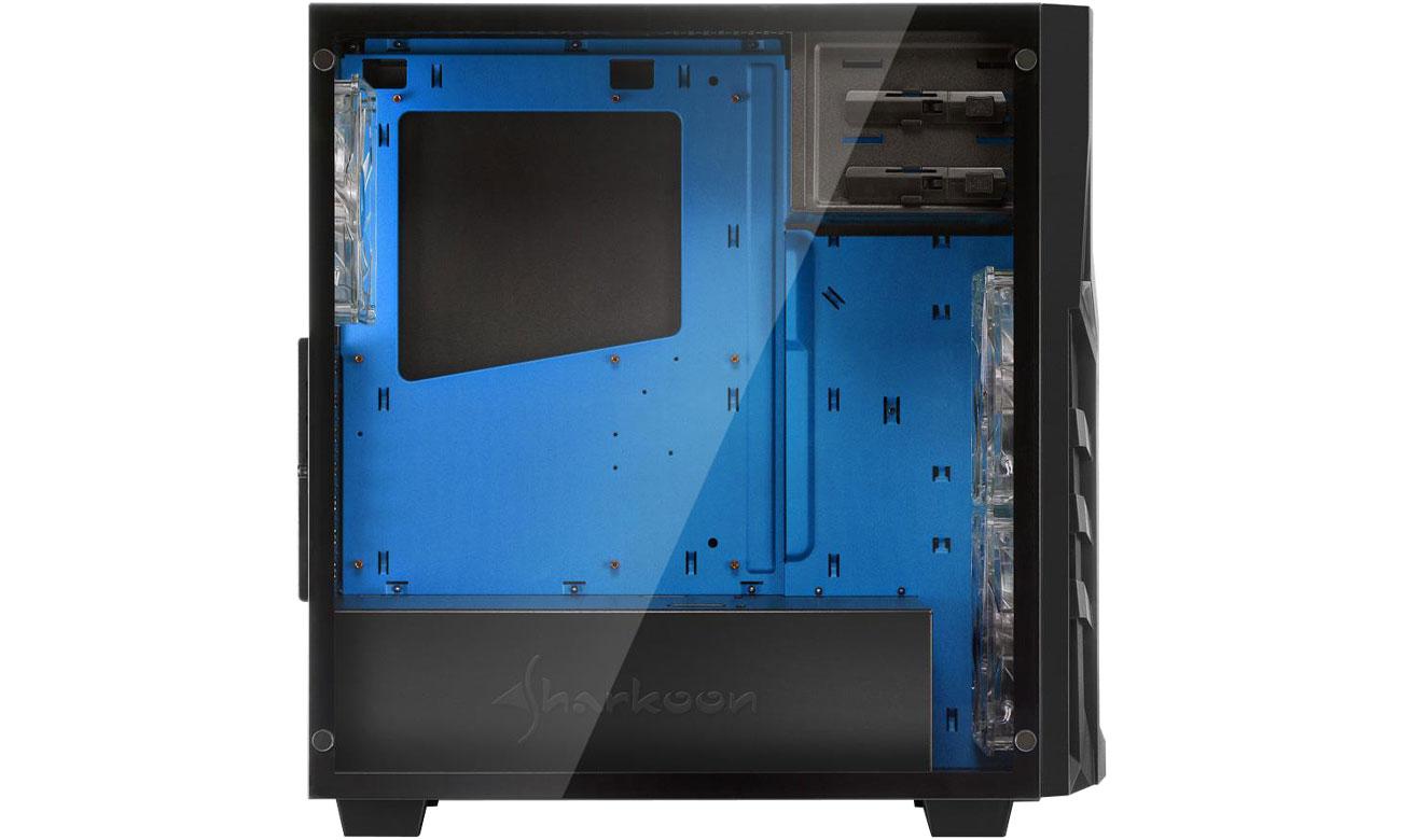 Sharkoon DG7000-G Blue Wnętrze