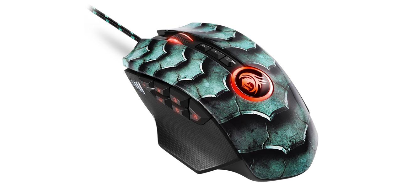 Mysz dla graczy Sharkoon Drakonia II Green