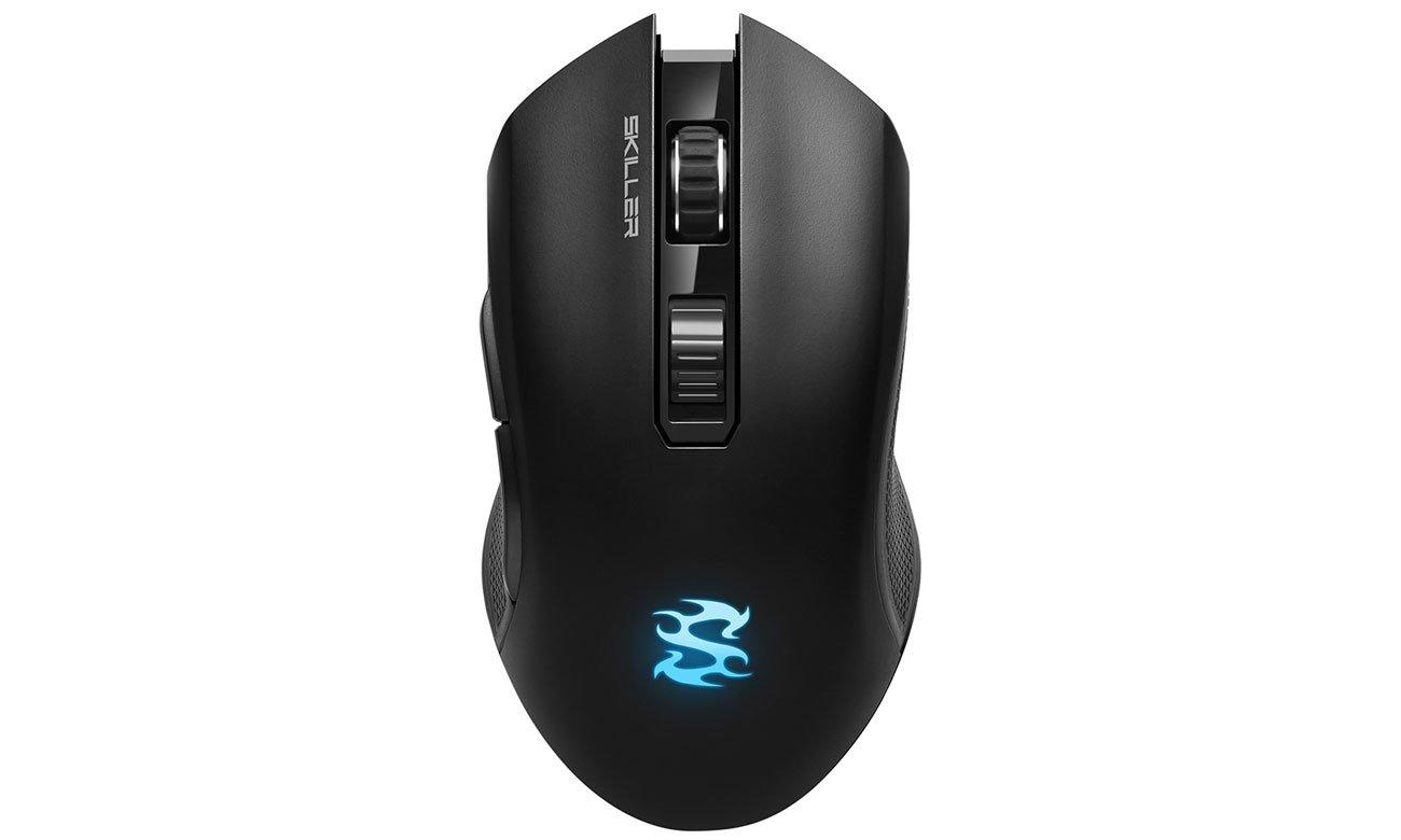 Mysz dla graczy Sharkoon Skiller SGM3 Black