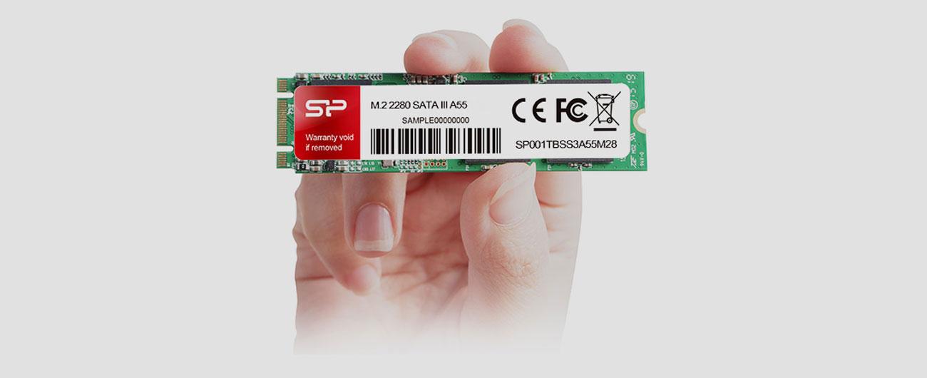 Dysk SSD Silicon Power A55 M.2 2280 Elastyczna konfiguracja Intel SRT