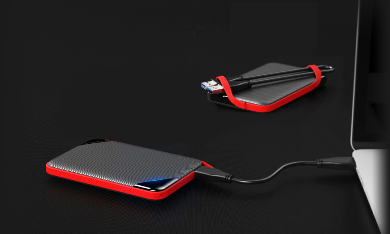 Silicon Power Armor A62 Chowany kabel USB