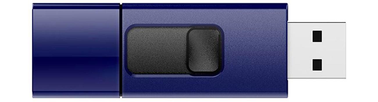 Pendrive Silicon Power Blaze B05 64GB Niebieski