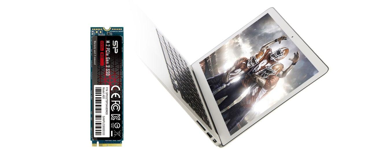 Silicon Power P34A80 - Kompaktowy rozmiar