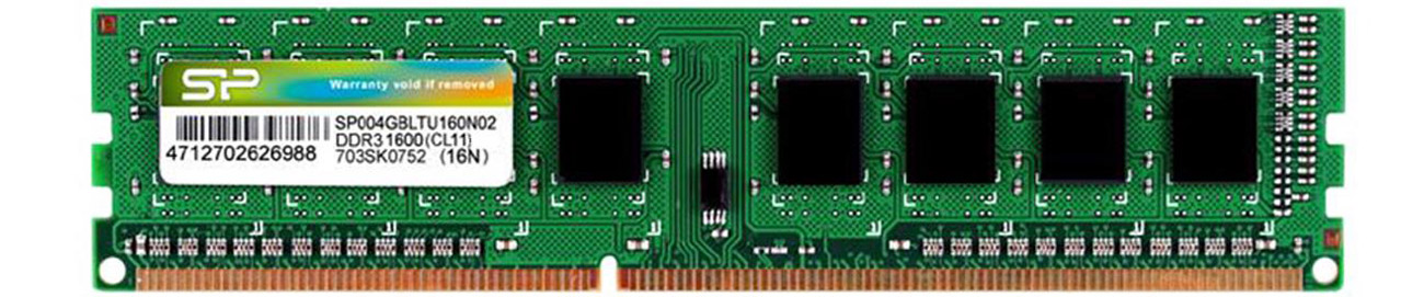 Pamięć RAM DDR3 Silicon Power 8GB (1x8GB) 1600MHz CL11