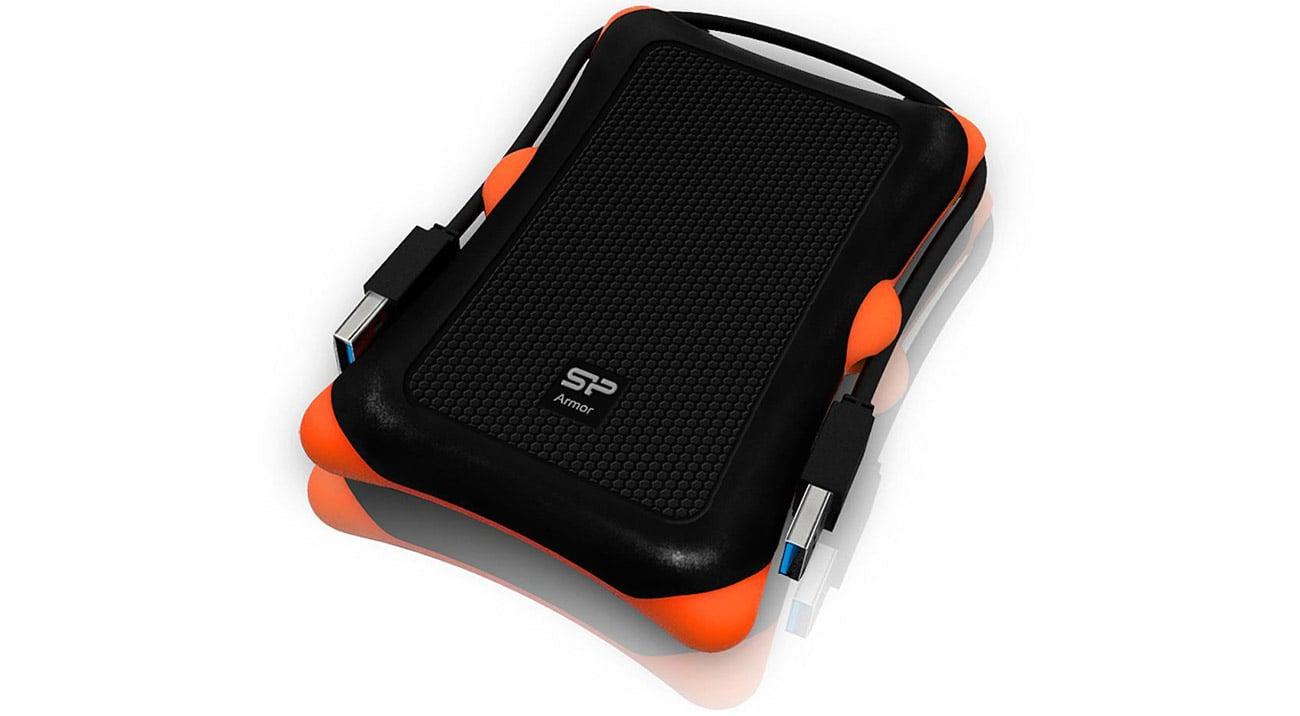 Dysk zewnętrzny Silicon Power Armor A30 2TB USB 3.0