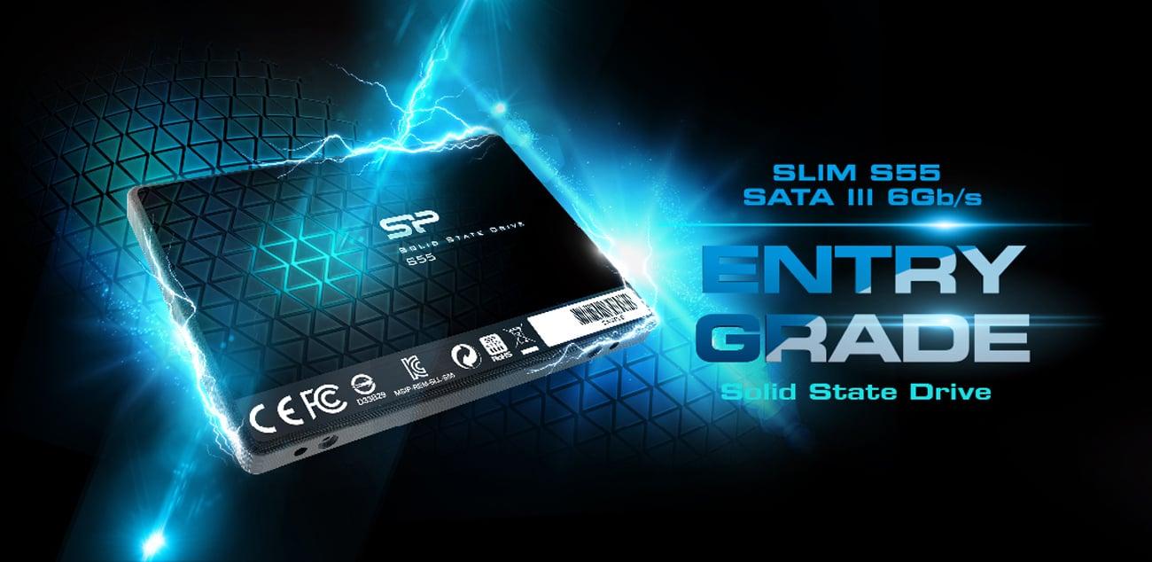 Dysk SSD Silicon Power S55 7mm 120GB
