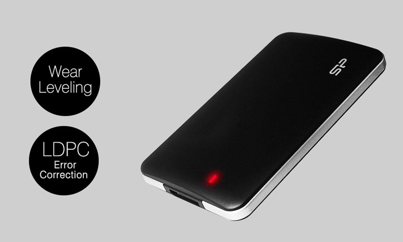 Dysk przenośny Silicon Power Bolt B10 256GB