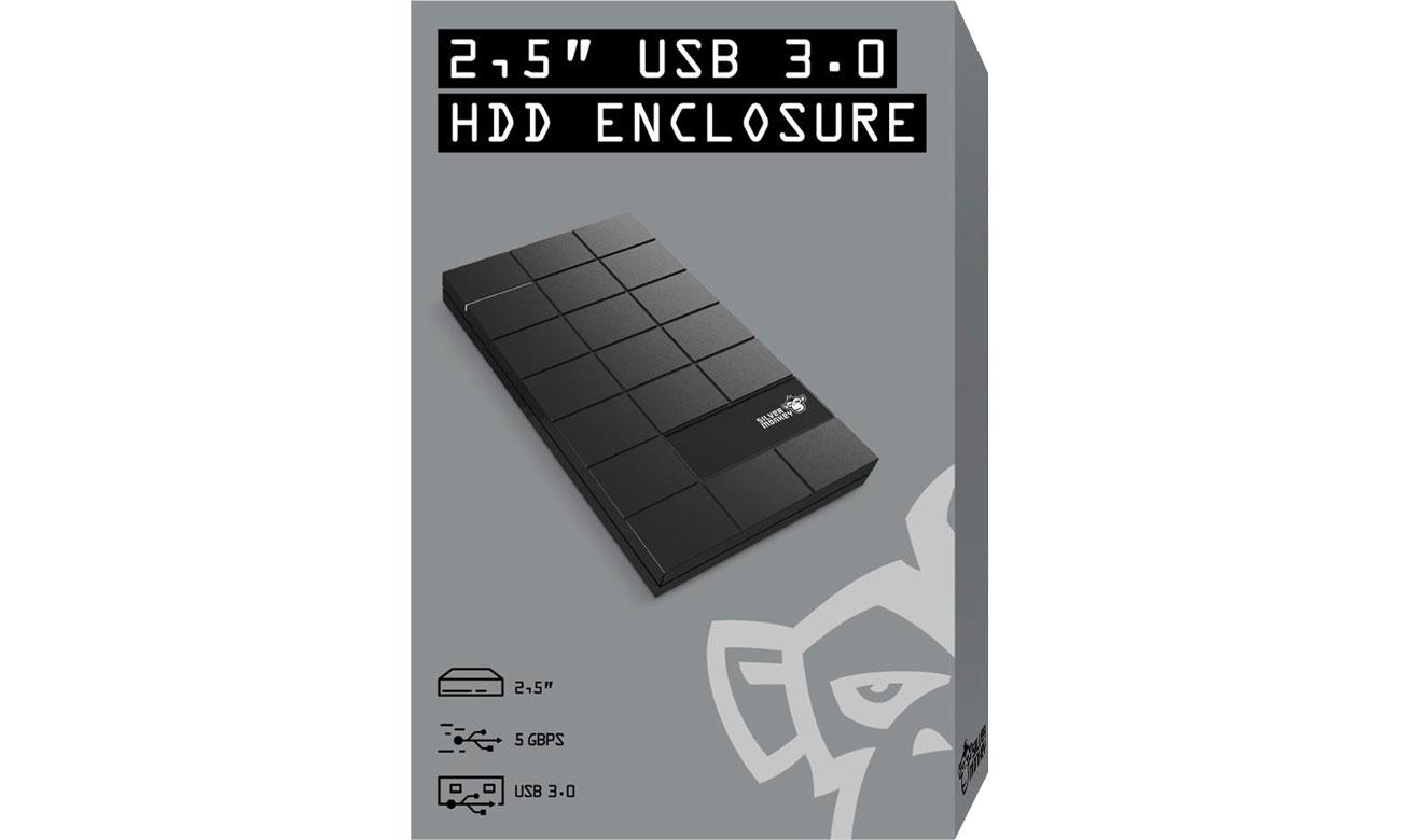 Obudowa na dysk HDD 2,5'' Silver Monkey