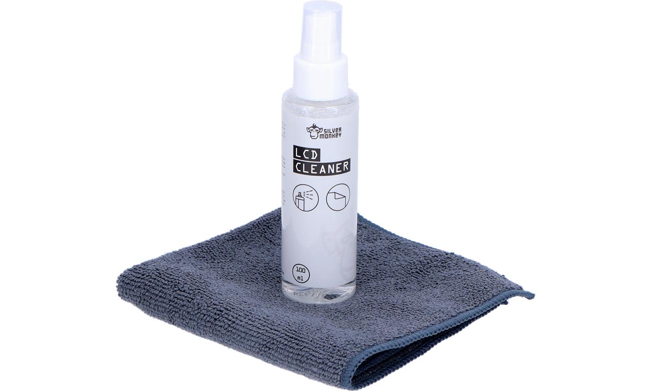 Zestaw czyszczący Silver Monkey LCD Ultra Clean Set
