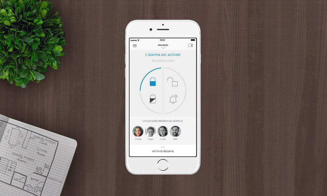 Somfy Home Alarm Bezpieczny dom pod Twoją kontrolą