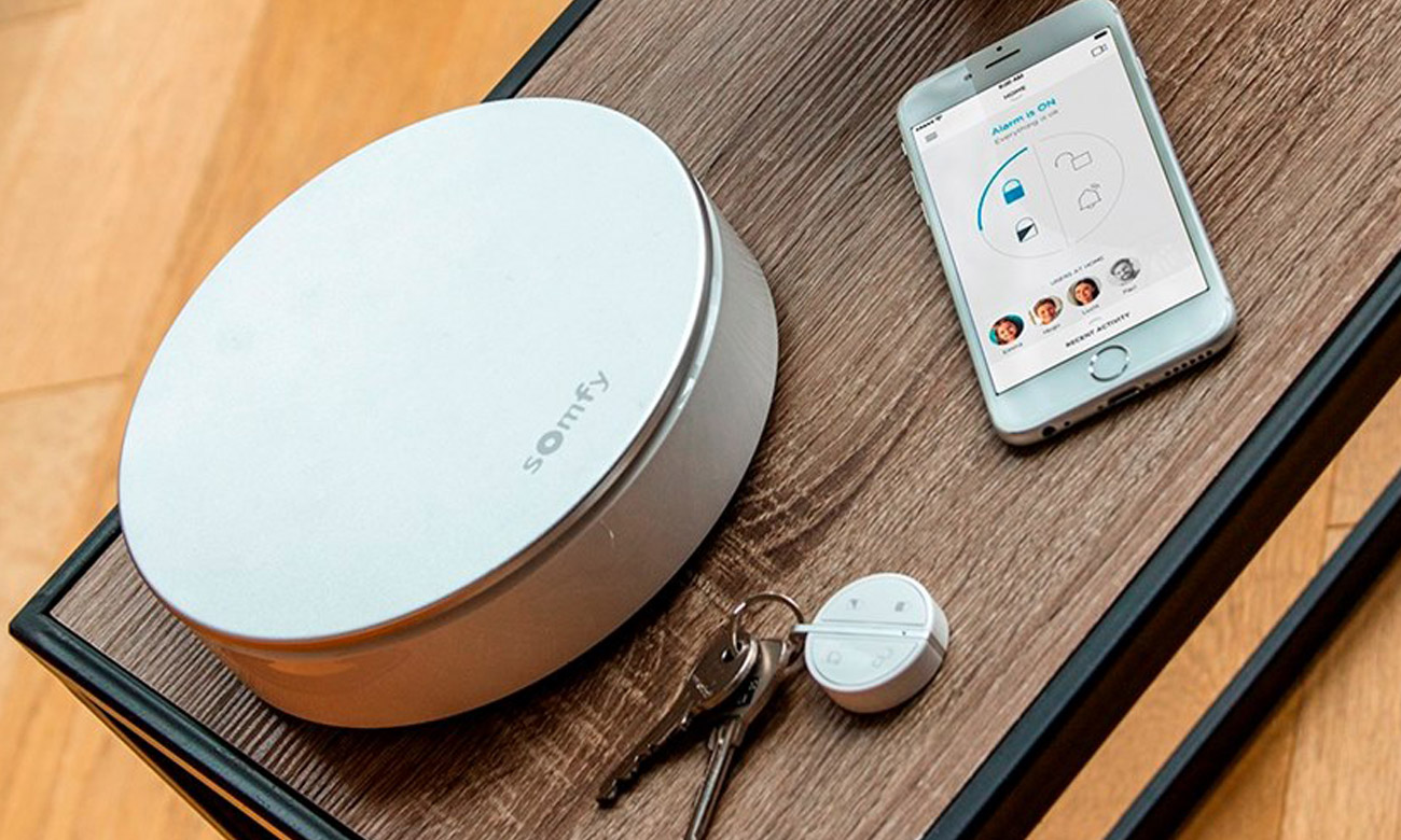 Somfy Home Alarm Udostępnij system swojej rodzinie lub przyjaciołom