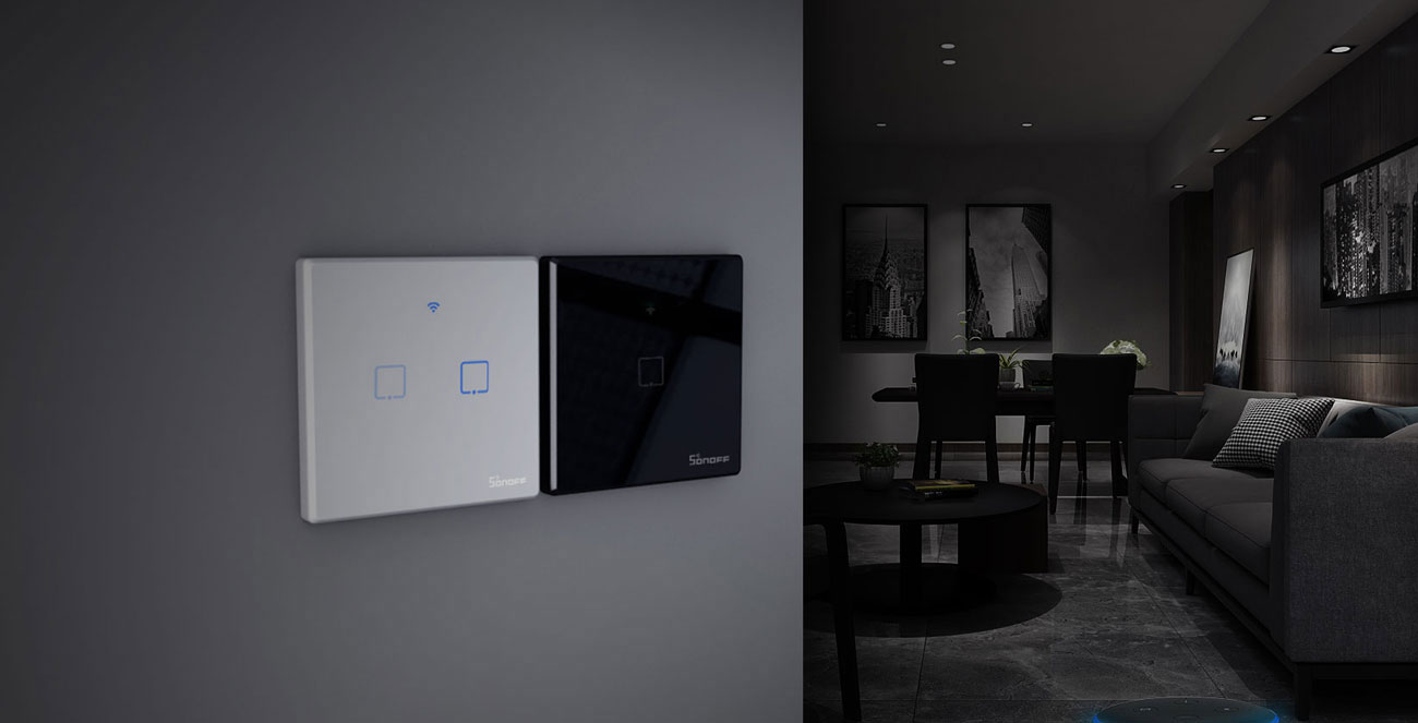 Sonoff T3 EU TX - Design