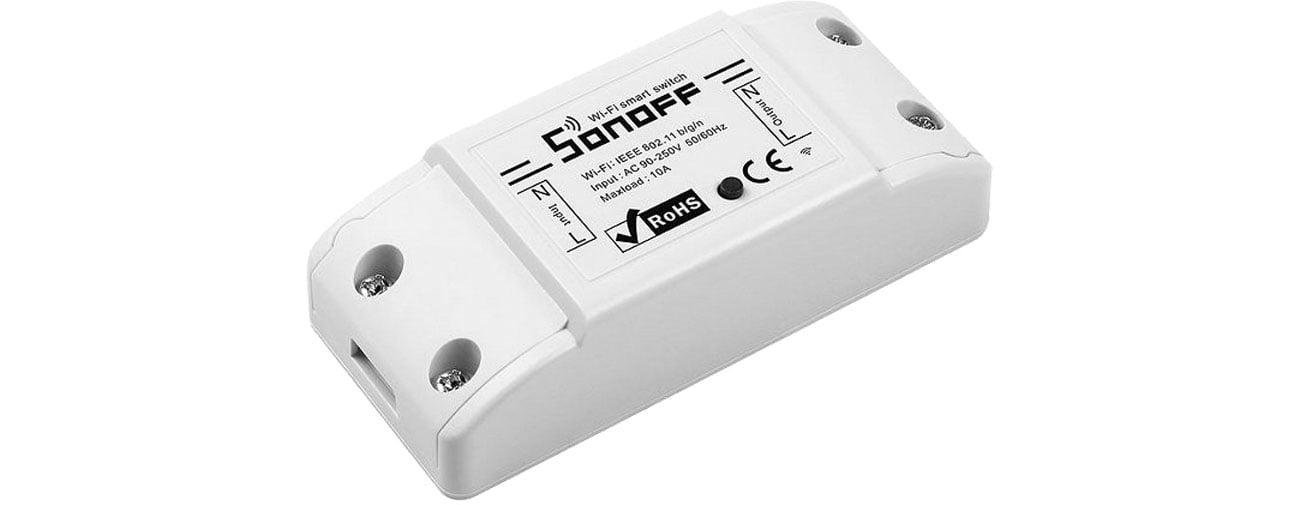 Inteligentny sterownik Sonoff RF2 Inteligentny przełącznik WiFi + RF 433