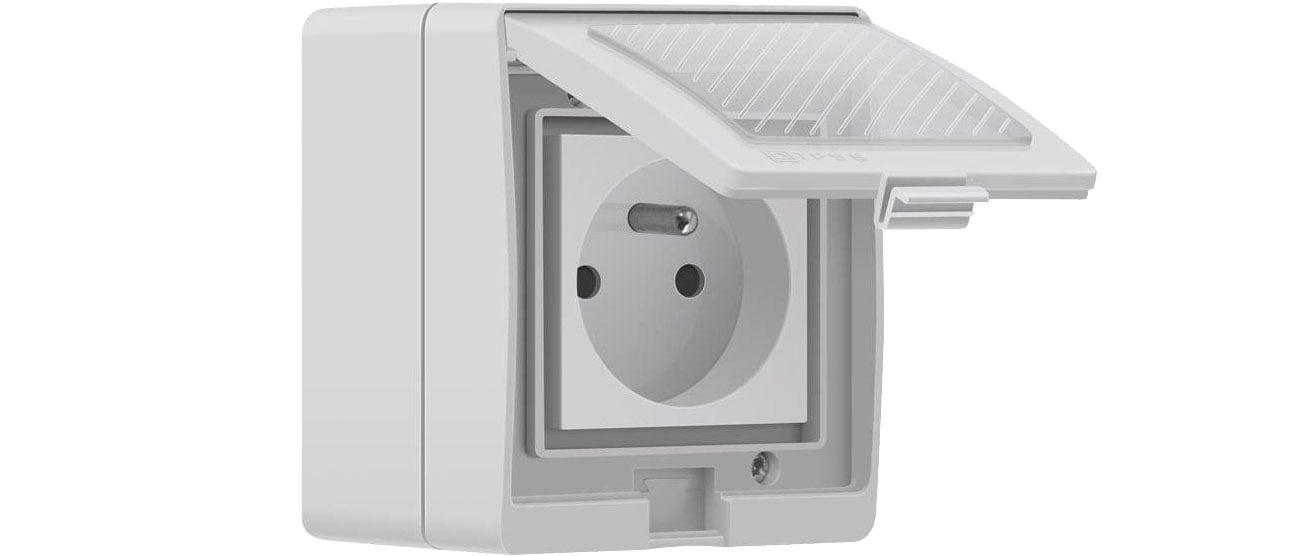 Gniazdo Sonoff S55 bezprzewodowe zewnętrzne (Wi-Fi) IM190314003