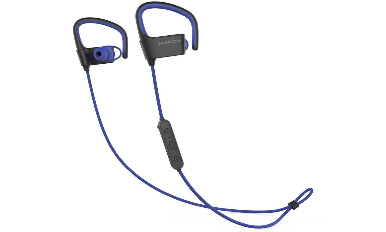 Słuchawki SoundCore Arc Czarno-niebieskie