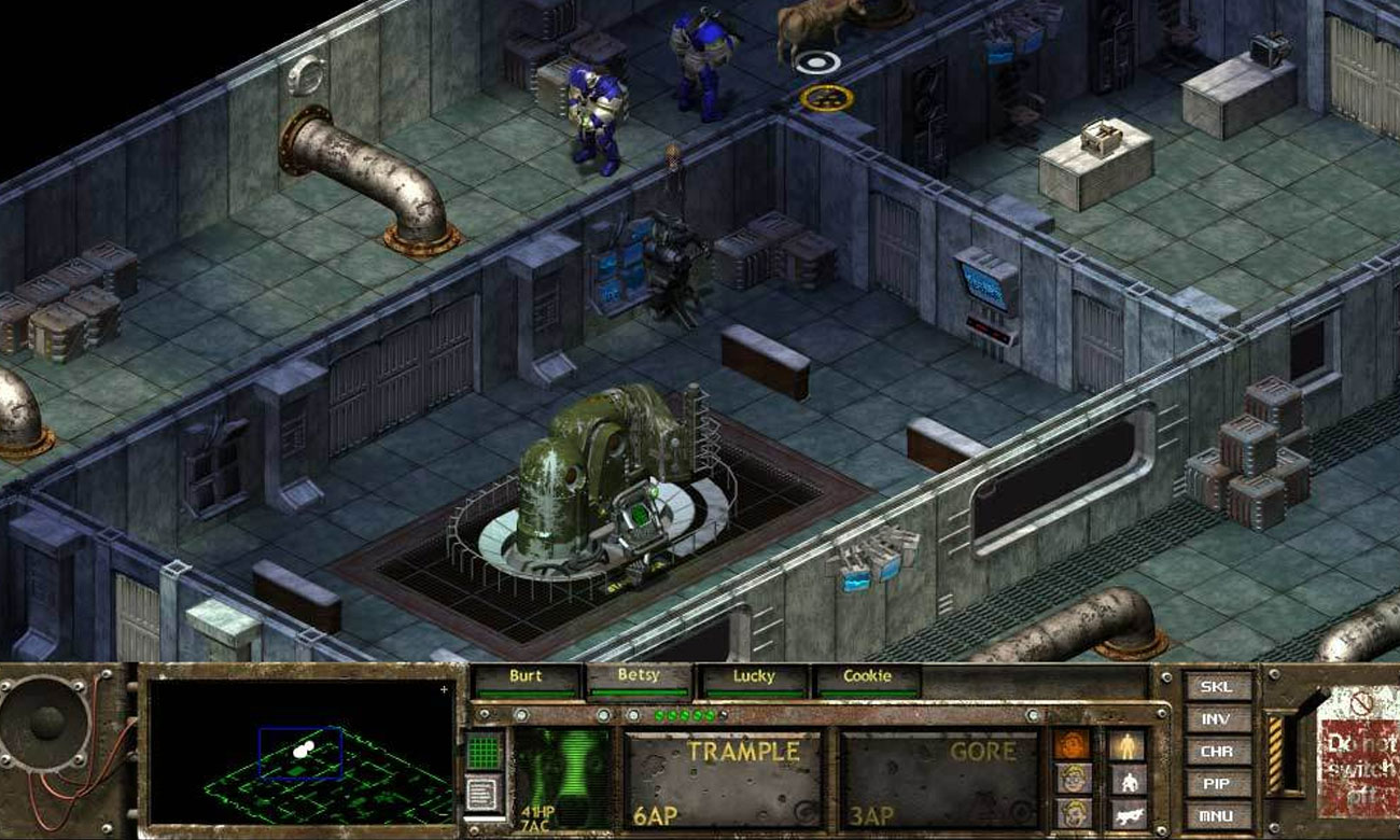Gra Fallout Tactics: Brotherhood of Steel EU na komputery PC