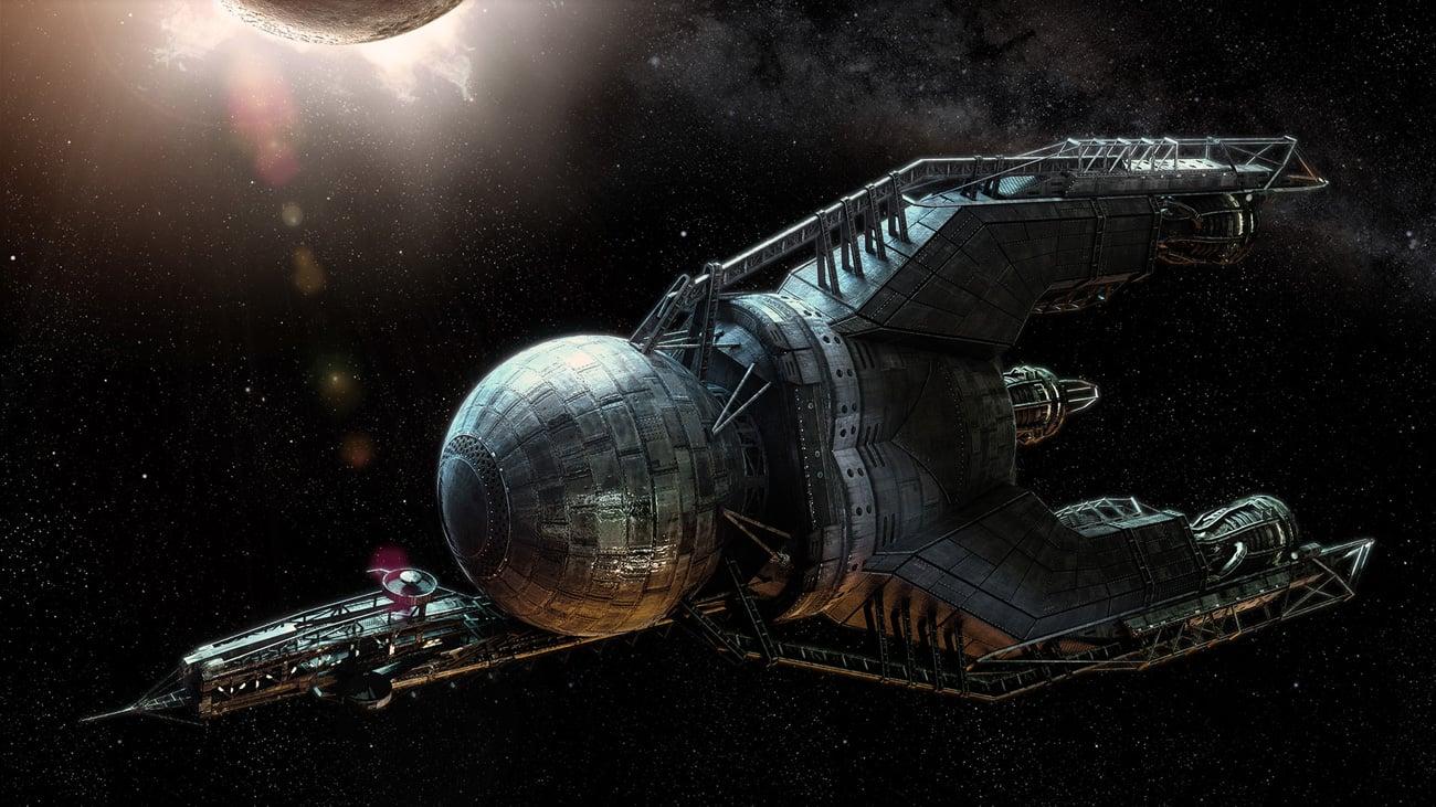 Iron Sky Invasion Widok statek