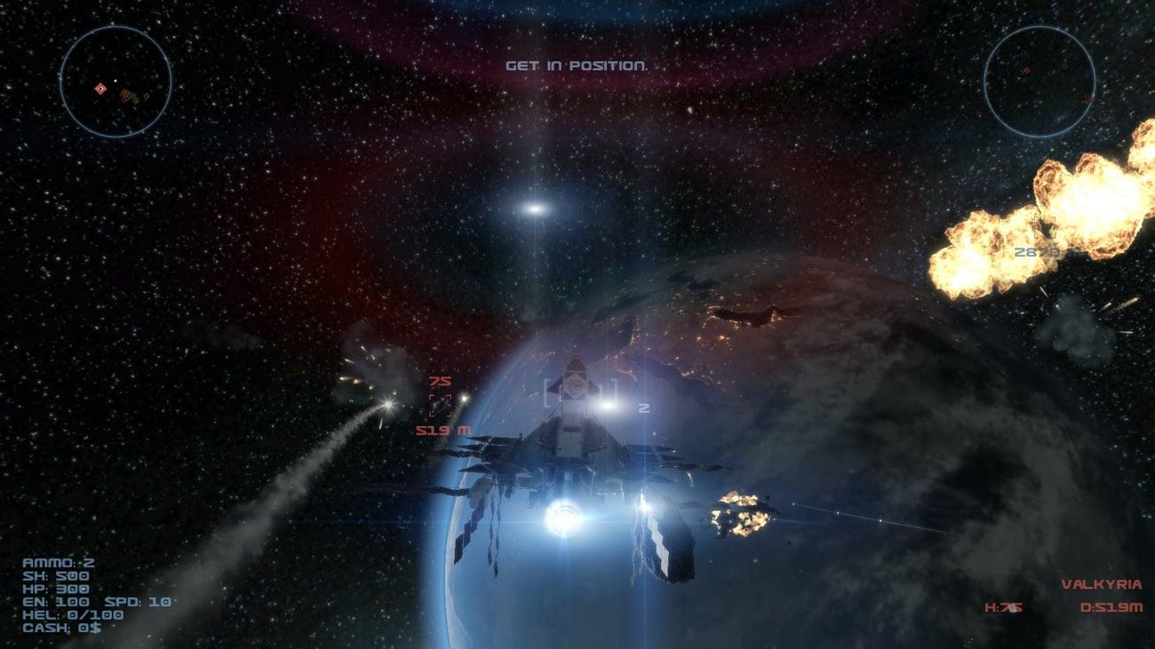 Iron Sky Invasion Widok z gry