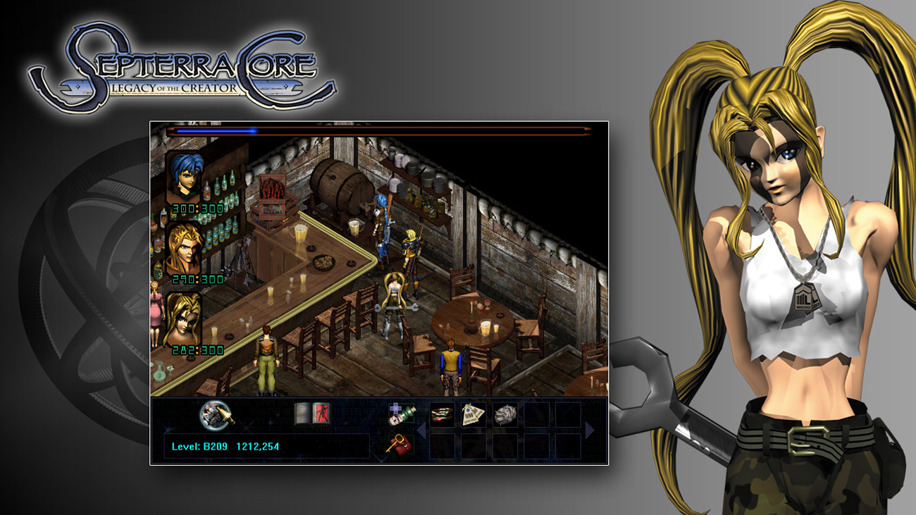 Septerra Core Widok z gry