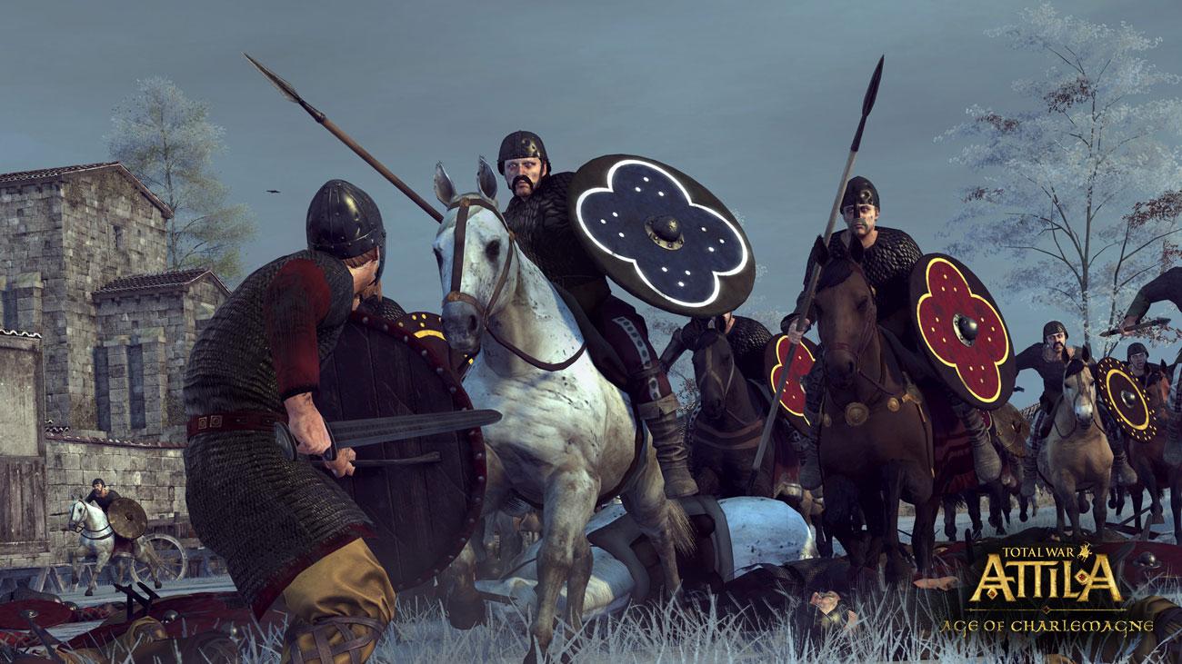 Pakiet Kampanii Era Karola Wielkiego do gry Total War: Attila