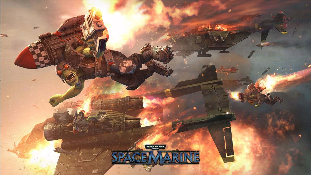 Warhammer 40,000: Space Marine Broń
