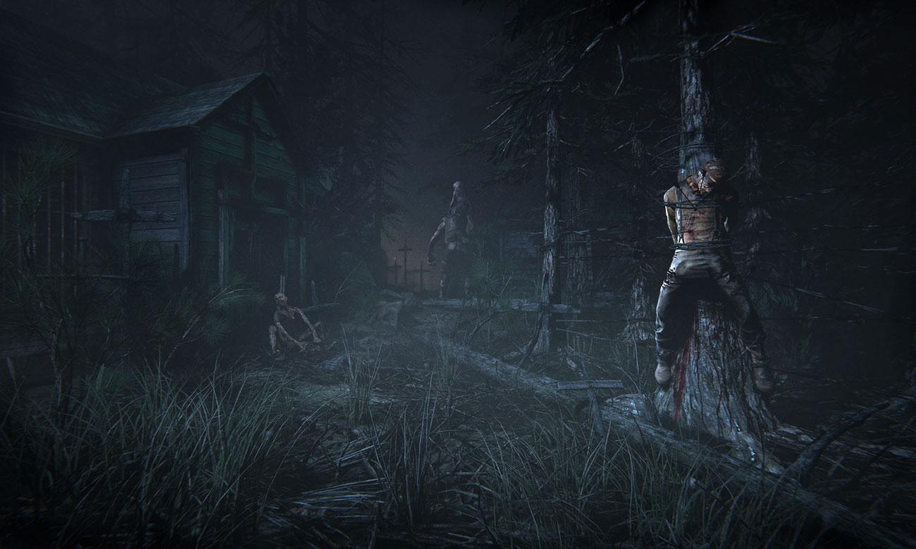 Outlast 2 screen z gry
