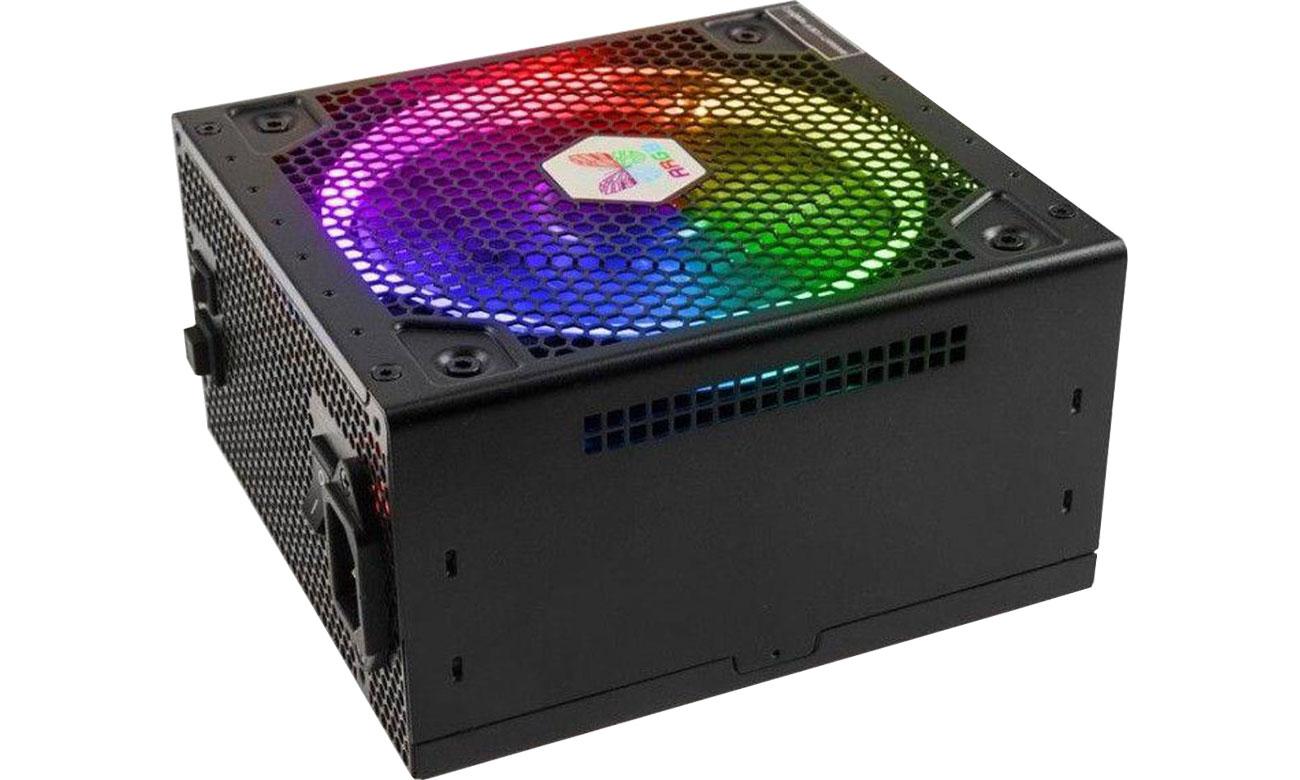 Zasilacz do komputera Super Flower Leadex III ARGB 650W 80 Plus Gold SF-650F14RG (BK)