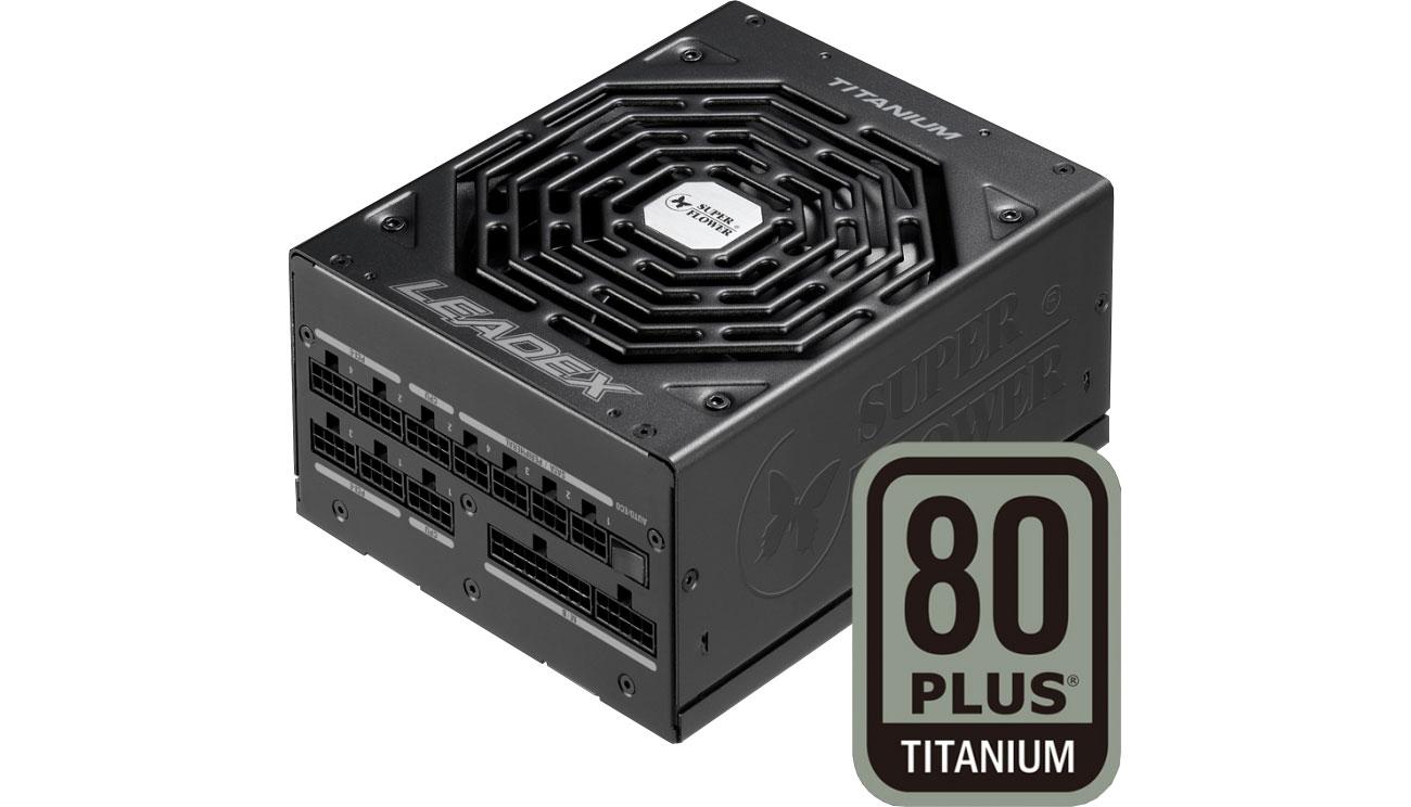 Zasilacz do komputera Super Flower Leadex 750W 80 Plus Titanium SF-750F14HT