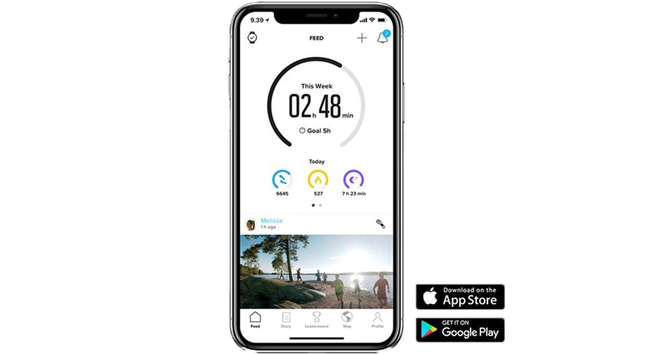 Aplikacja Suunto app