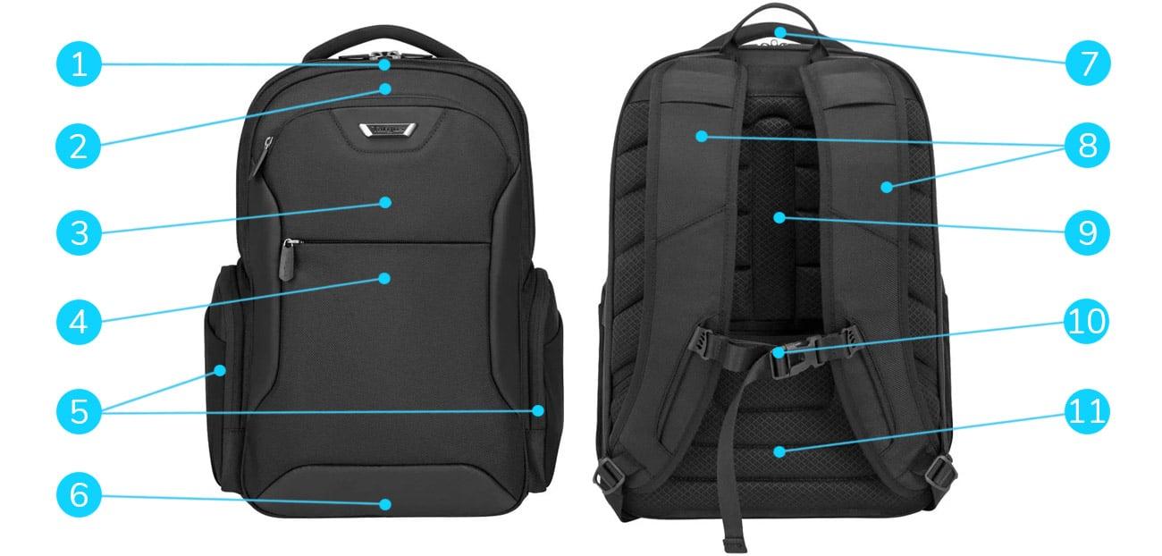 Plecak na laptopa Targus Corporate Traveller 15.6''