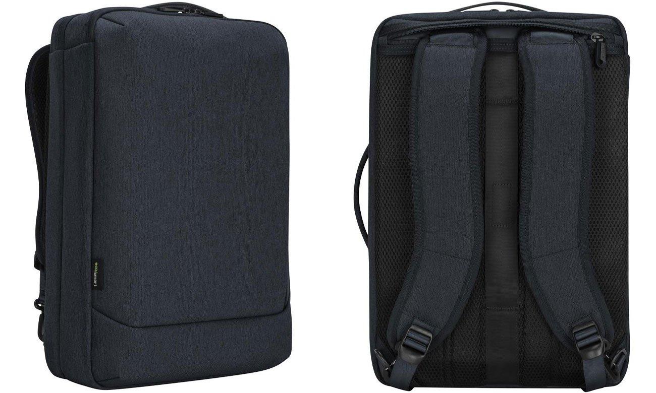 "Plecak Targus Cypress 15.6"" Convertible EcoSmart Granatowy"